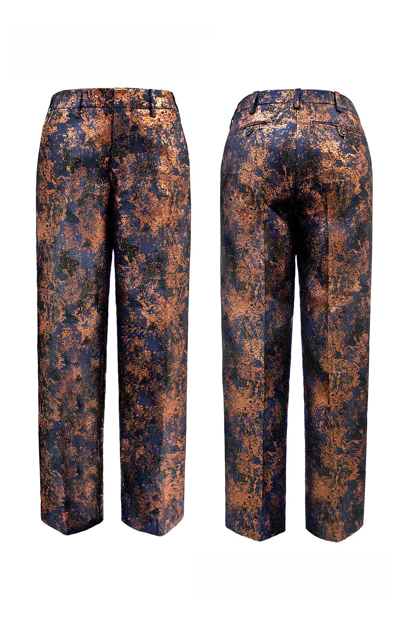 "Brocade ""Quentin"" Trouser Copper"