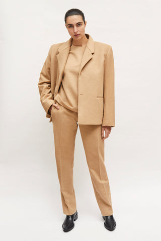 "Caramel ""Dick Tracy"" 3-Piece Suit"