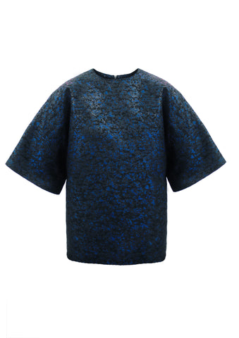 "Tonal Brocade ""Duke"" Top"