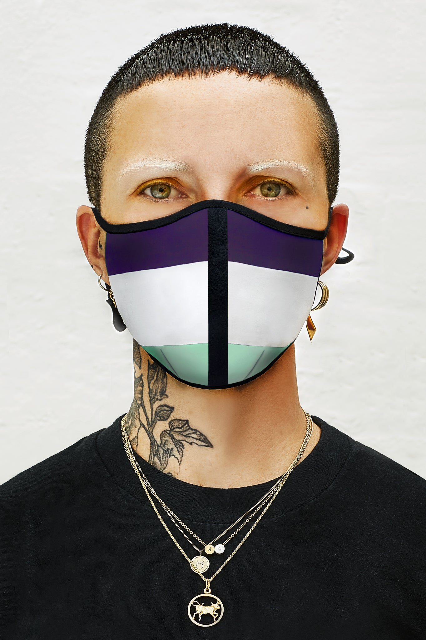 Genderqueer Flag Mask