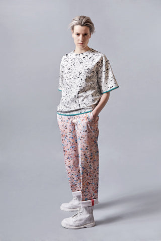 "Foam Print ""Blake"" Trousers"