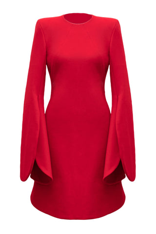 "Red Punto Milano ""Tulip"" Dress"