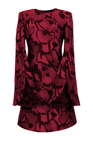 "Jacquard ""Tulip"" Dress"