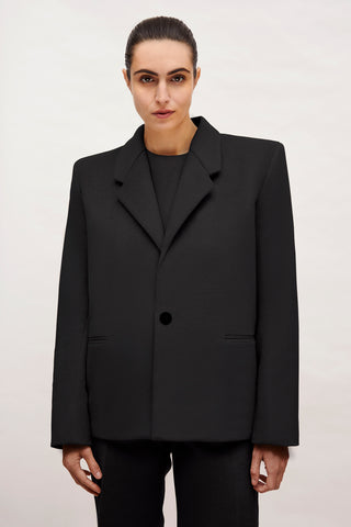 "Black Wool ""Dick Tracy"" 3-Piece Suit"