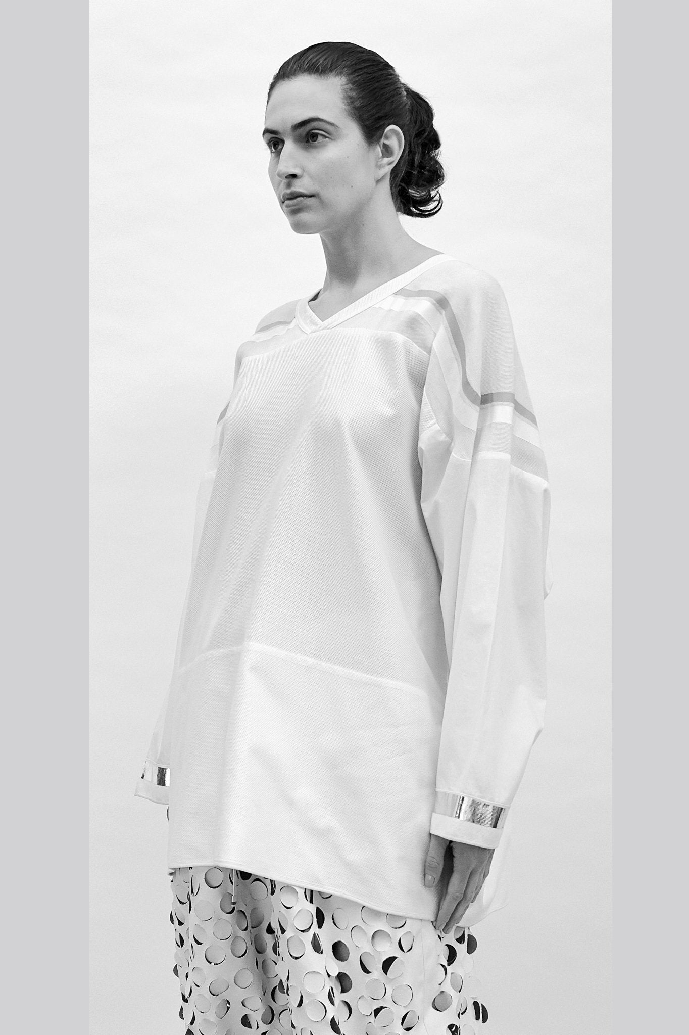 "Unisex futuristic ""Colt"" Long-sleeved Top"