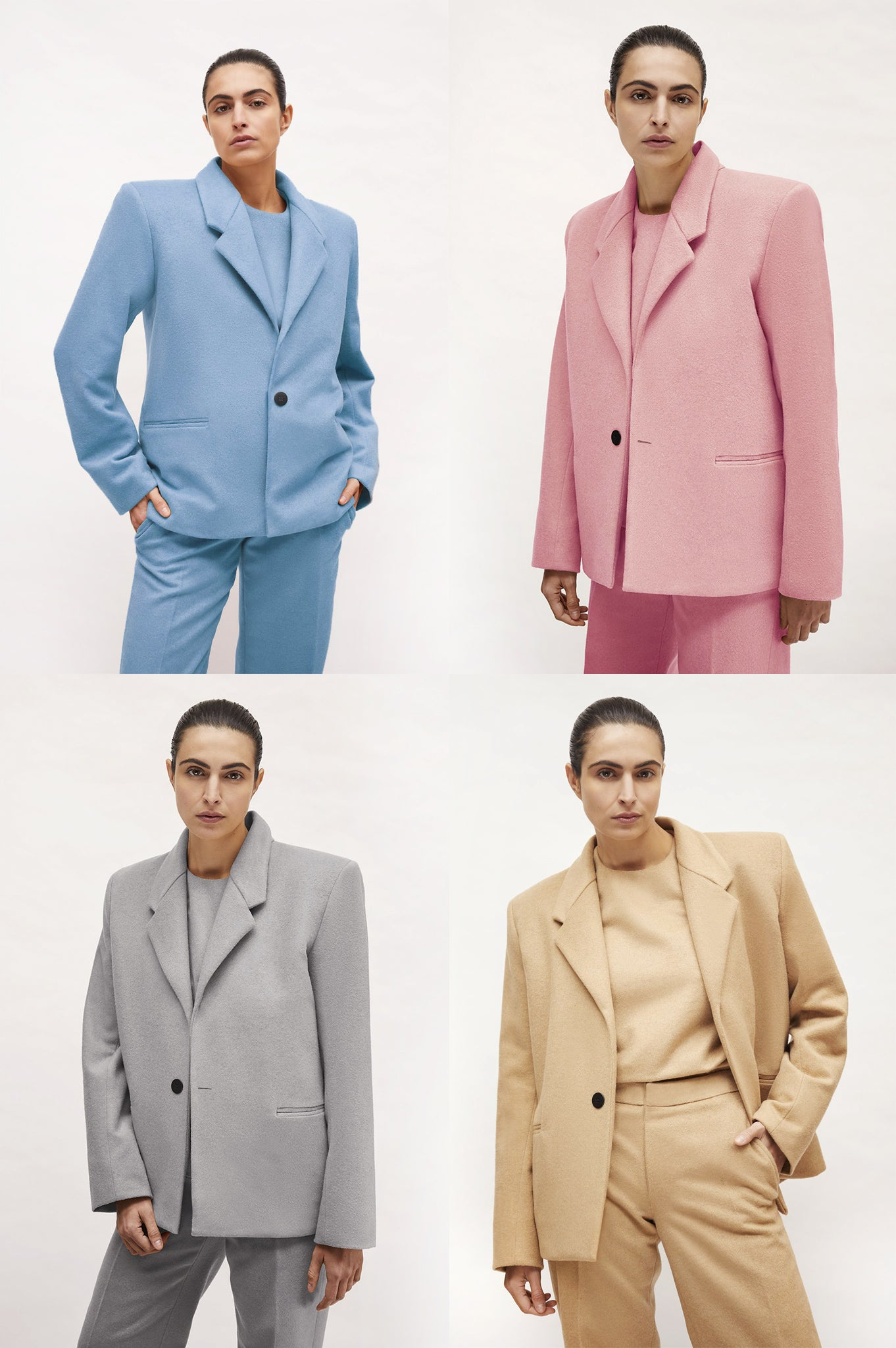 "Light Blue or Pale Pink ""Dick Tracy"" 3-Piece Suit"