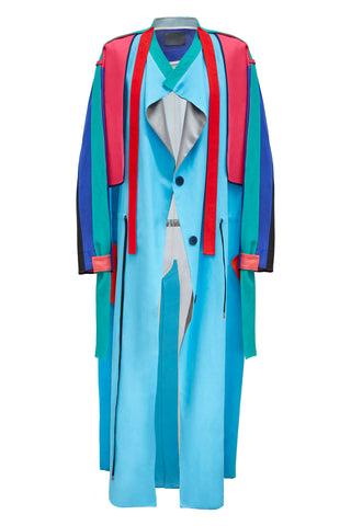 "Unisex multi Coloured ""Helios"" Trench Coat"