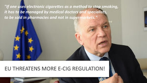 EU Threaten More eCig Regulation - Only Pharmacists Should Sell Them!