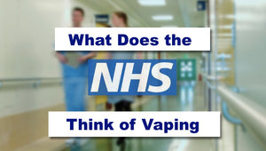 What does the NHS think about vaping?