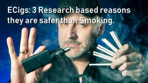 Ecigs: 3 Research Based Reasons They Are Safer Than Smoking