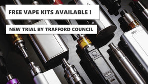 Smokers will given FREE 'vape' kits to help kick the habit in new trial by Trafford Council