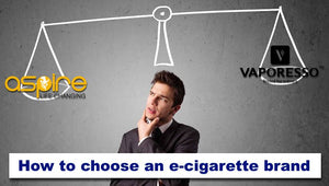 How to choose an e-cigarette Brand