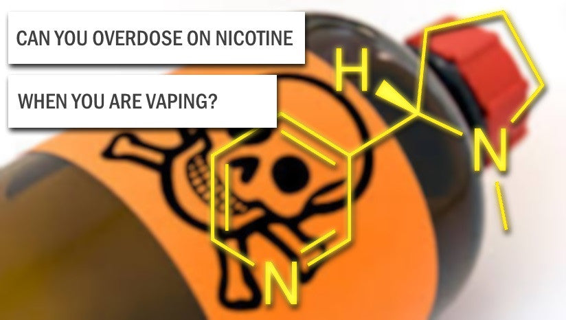 Can you overdose on Nicotine from Vaping