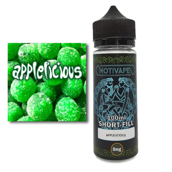 Applelicious - Shortfill (100ml eliquid)