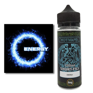 Energy - Shortfill (100ml eliquid)