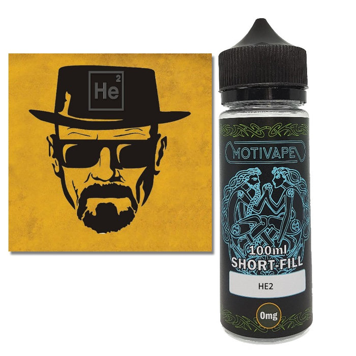 HE2 - Shortfill (100ml eliquid)