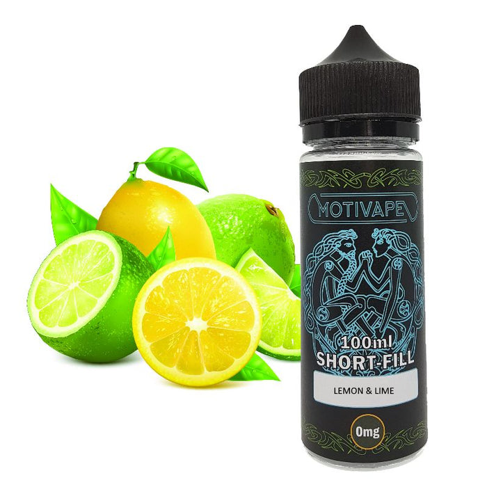 Lemon Lime - Shortfill (100ml eliquid)