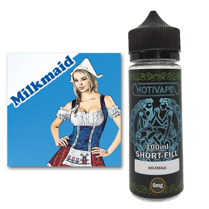Milkmaid - Shortfill (100ml eliquid)