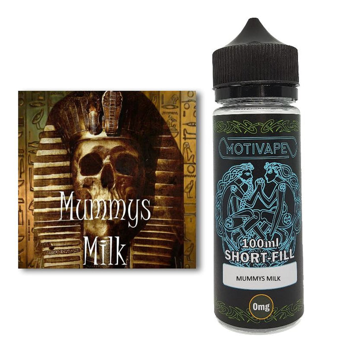 Mummys Milk - Shortfill (100ml eliquid)