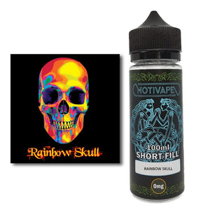 Rainbow Skull - Shortfill (100ml eliquid)