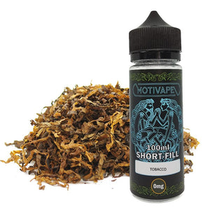 Tobacco - Shortfill (100ml eliquid)
