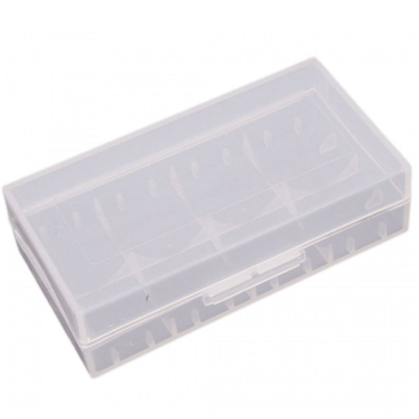 18650 Plastic Carry Case