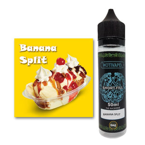 Banana Split - Shortfill (50ml eliquid)