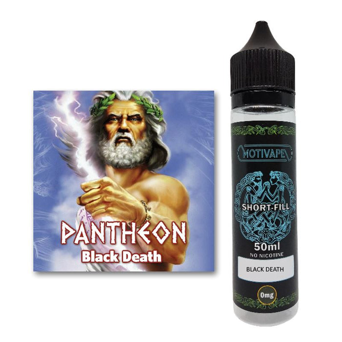 Black Death - Shortfill (50ml eliquid)
