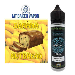 Banana Nut Bread - Shortfill (50ml eliquid)