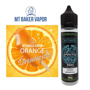 Orange Dreamcicle - Shortfill (50ml eliquid)