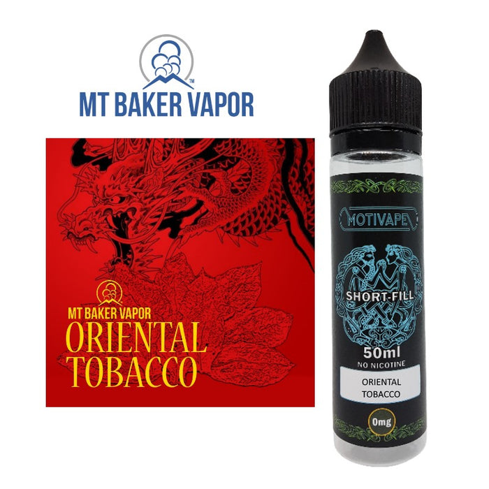Oriental Tobacco - Shortfill (50ml eliquid)
