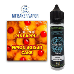 Pineapple Upside Down Cake - Shortfill (50ml eliquid)