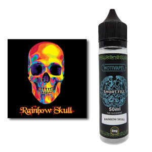 Rainbow Skull - Shortfill (50ml eliquid)