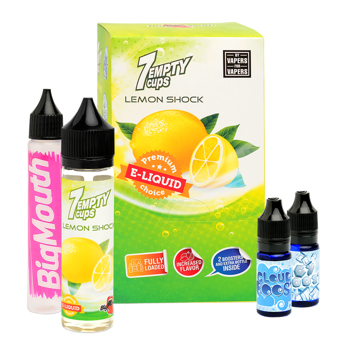 Lemon Cups by Big Mouth 0mg 60ml Shortfill (70VG-30PG)