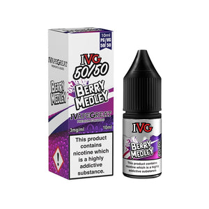 IVG 50:50 Range - Berry Medley (10ml)