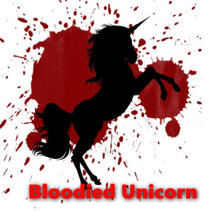 Bloodied Unicorn - 100ml bottle of e liquid made in the UK