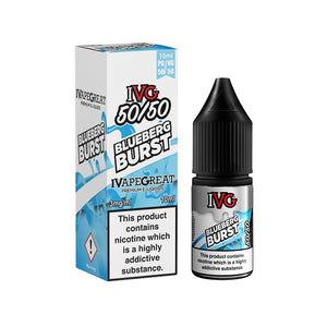 IVG 50:50 Range - Blueberg Burst (10ml)