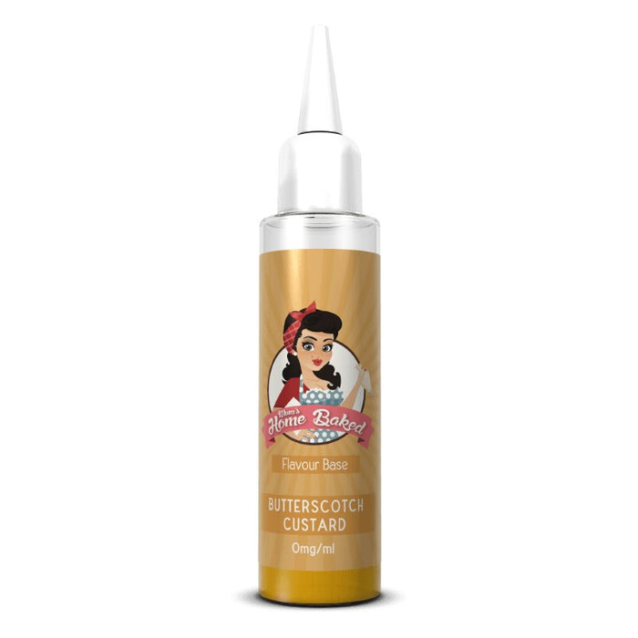 Mums Home Baked - Butterscotch Custard (50ml Shortfill eliquid)