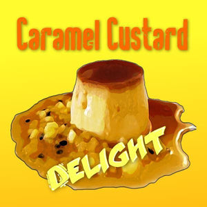 Caramel Custard Delight - 100ml e liquid