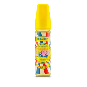 Dinner Lady Desserts Range - Lemon Tart (50ml Shortfill)
