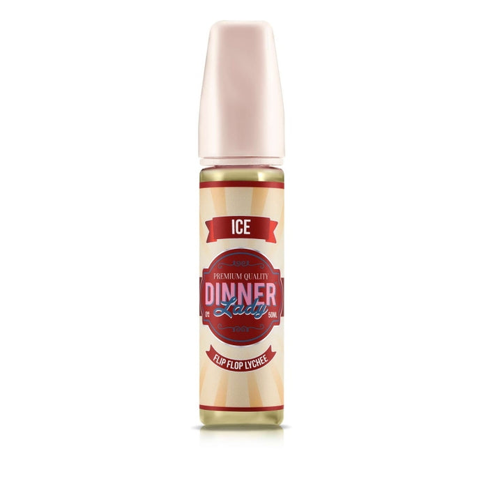Dinner Lady Ice Range - Flip Flop Lychee (50ml Shortfill)