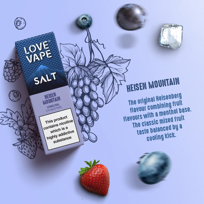 Love Vape Nic Salt - Heisen Mountain (10ml)