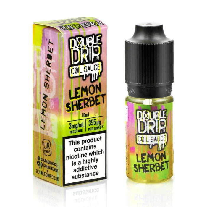 Double Drip Coil Sauce - Lemon Sherbet (10ml eliquid)