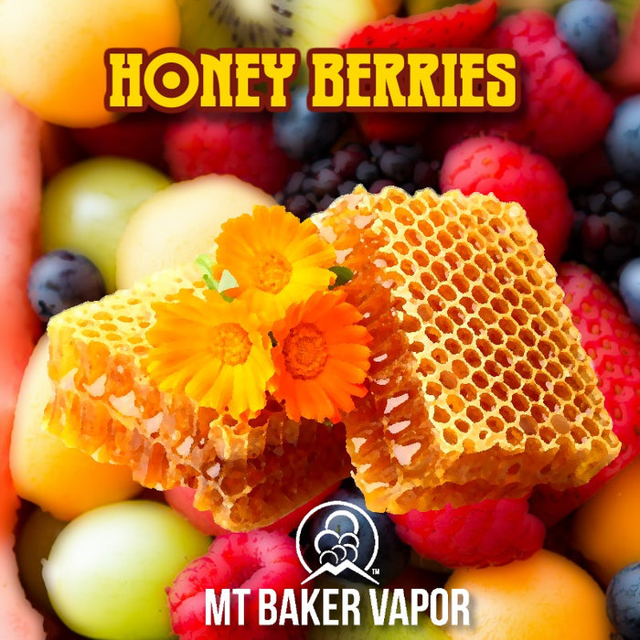 Mt Baker Vapor - Honey Berries (100ml eliquid)