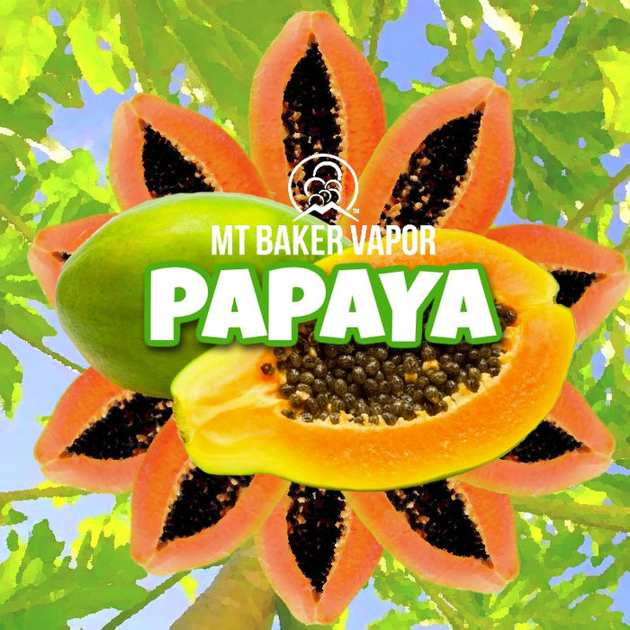 Mt Baker Vapor - Papaya (100ml eliquid)