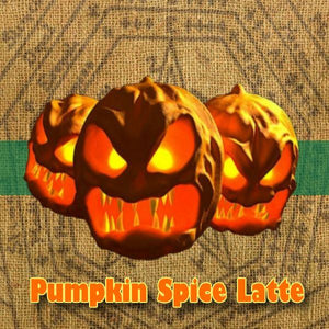 Pumpkin Spice Latte - 100ml bottle of e liquid made in the UK