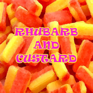 Vampire Vape - Rhubarb and Custard (100ml eliquid)