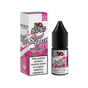IVG 50:50 Range - Summer Blaze (10ml)