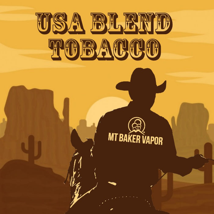 Mt Baker Vapor - USA Blend Tobacco (100ml eliquid)