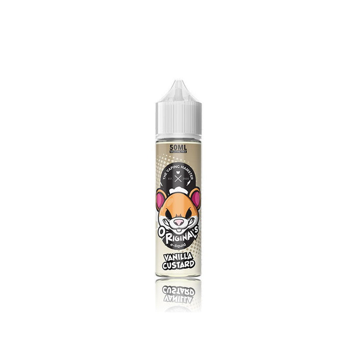 Vaping Hamster - Vanilla Custard (50ml Shortfill)